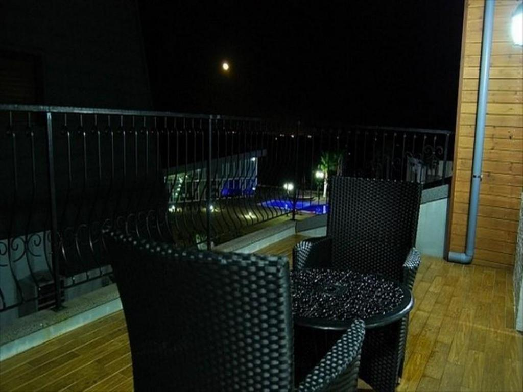 Balcony/terrace Nuga Village Pension
