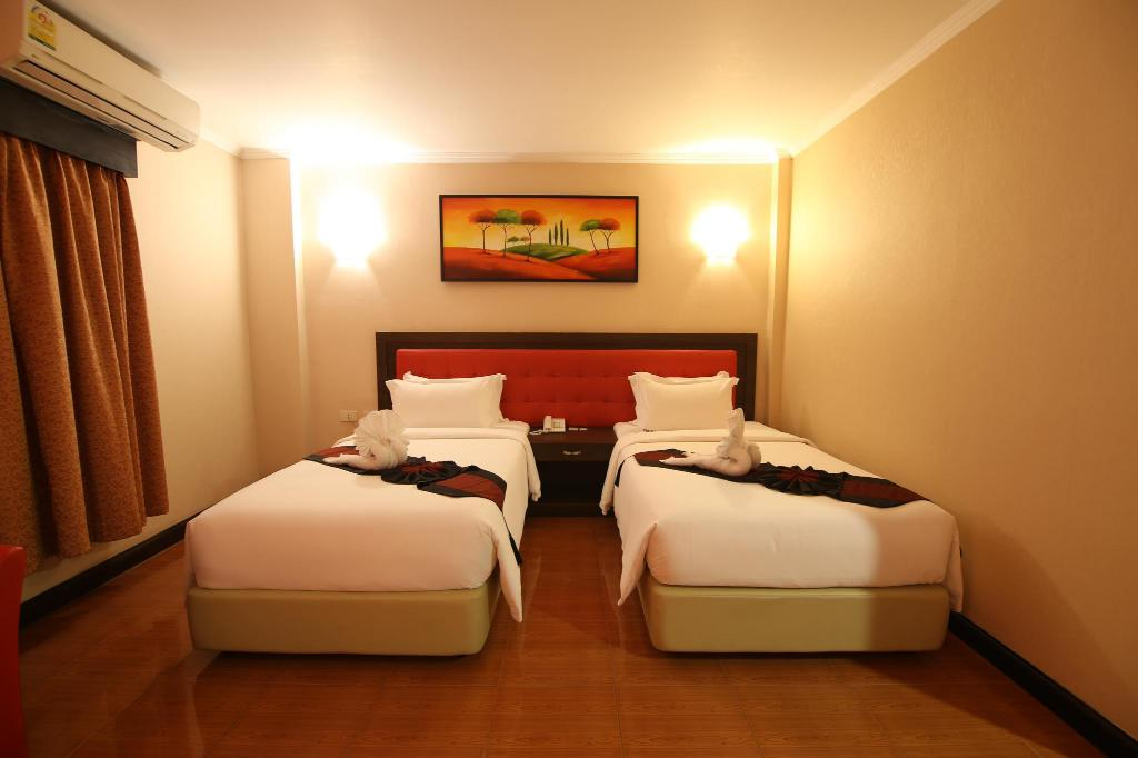 Superior twinkamer (2 aparte bedden) - Bed The Wai Hotel Danok