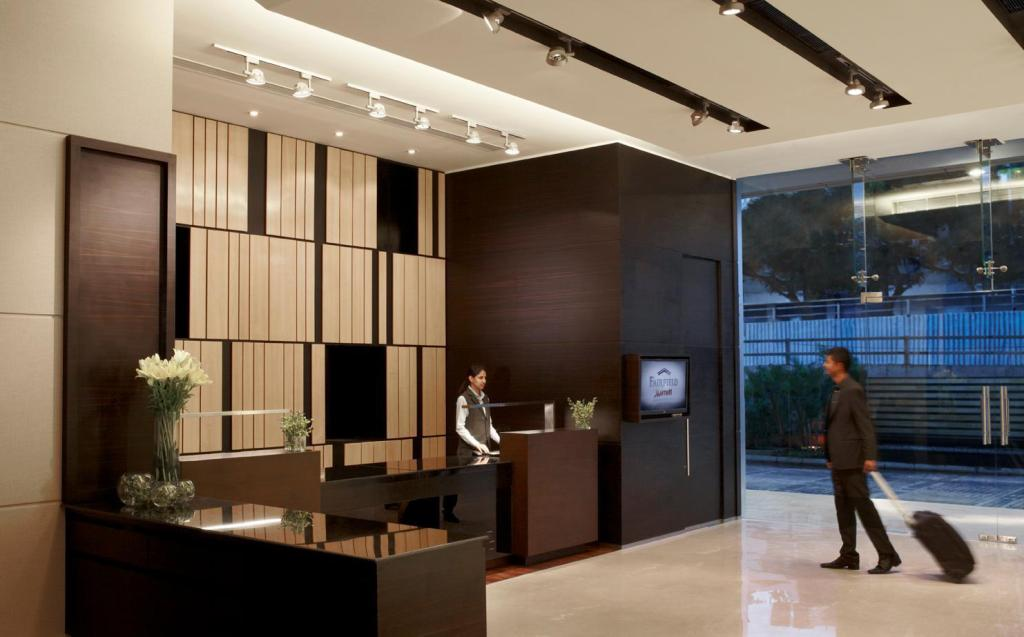 Lobby Fairfield by Marriott Bengaluru Rajajinagar