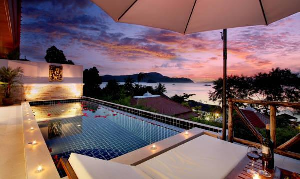 Two-Bedroom Sea View Pool Villa
