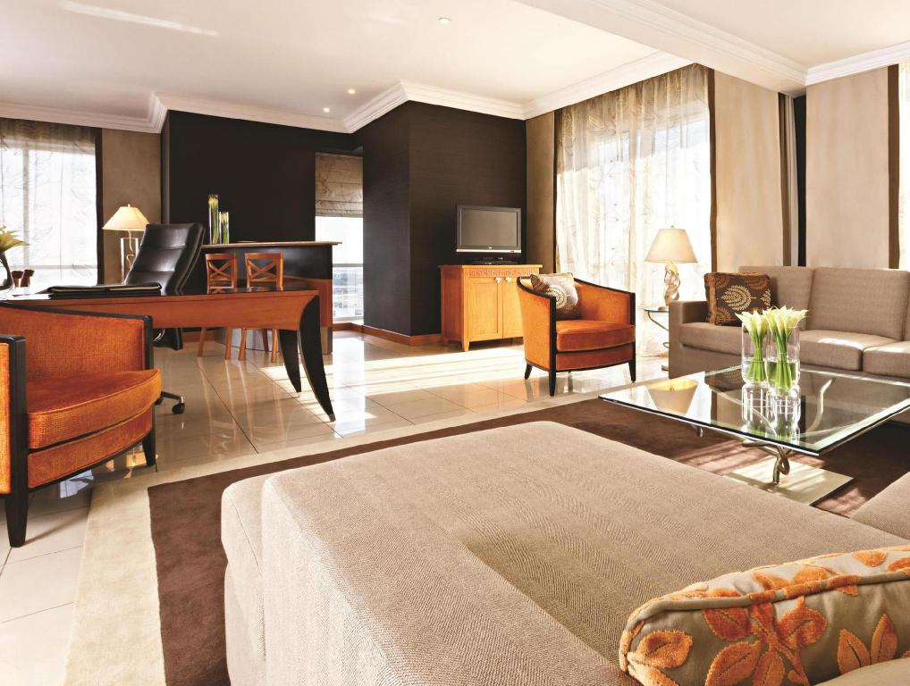 Interior view Fairmont Dubai