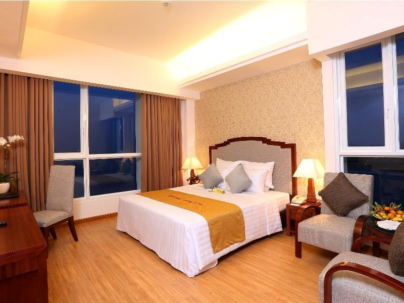 Katil Deluxe Double Pemandangan Laut Senior (Senior Deluxe Double Bed Sea View)