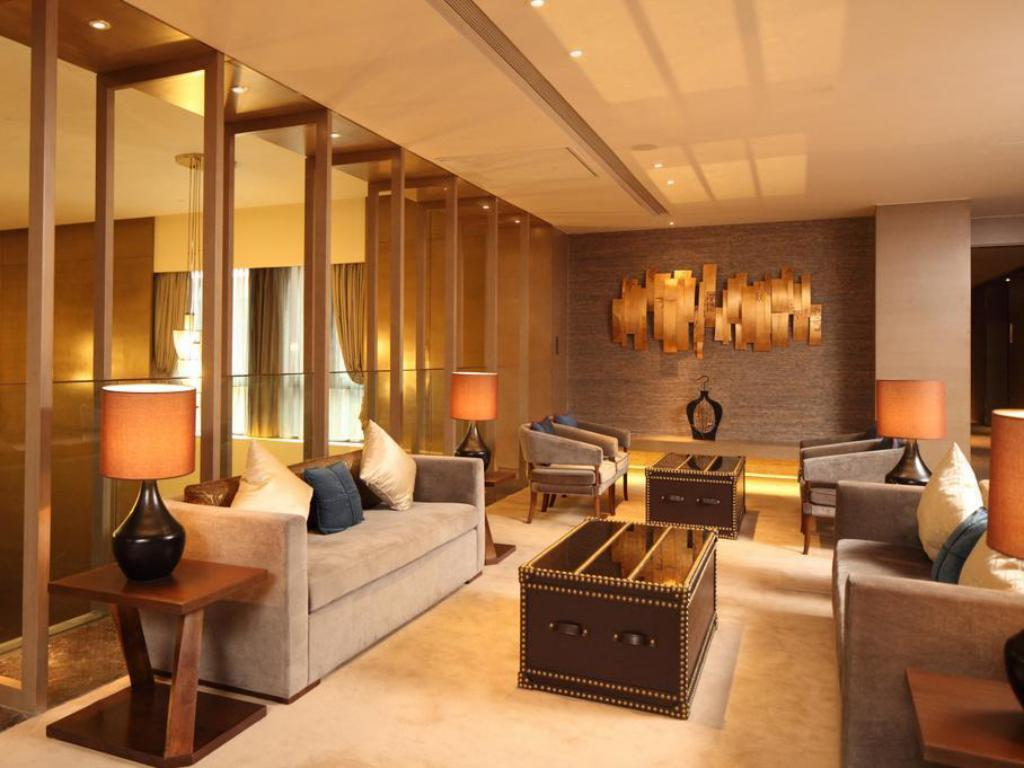 Interior view Double Tree by Hilton Hotel Jiaxing