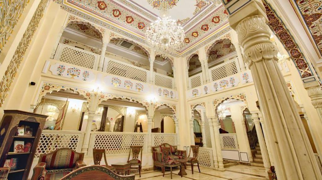 Lobby WelcomHeritage Traditional Heritage Haveli Hotel
