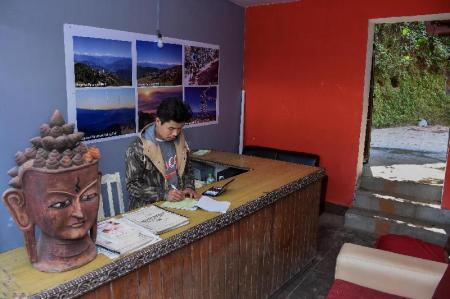 Lobby Langtang View Nagarkot Bed & Breakfast