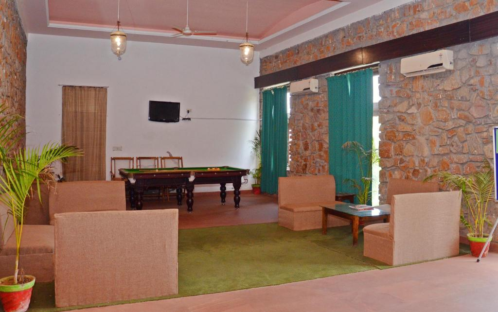 Lobby Sultanbagh Jungle Camp - Ranthambore