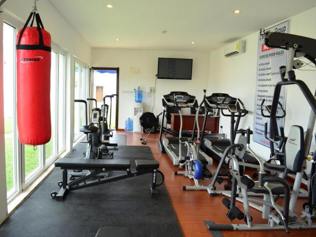 fitness centrum Stellar Lodge