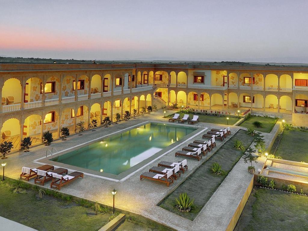 Club mahindra jaisalmer india photos room rates - Jaisalmer hotels with swimming pool ...