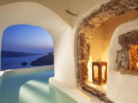 River Pool Suite Canaves Oia Suites & Spa