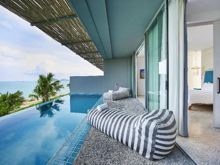 Bay Pool Suite - Room plan COMO Point Yamu, Phuket