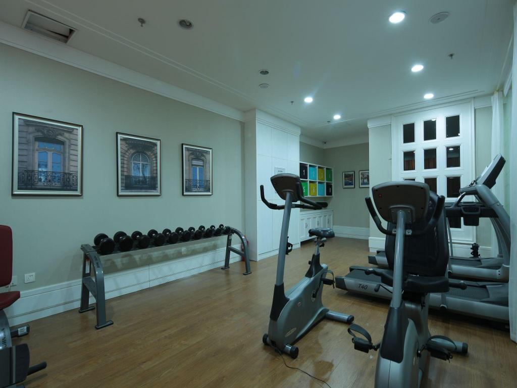 Fitness center Tujia Somerset Baiyue Dalian Serviced Residence