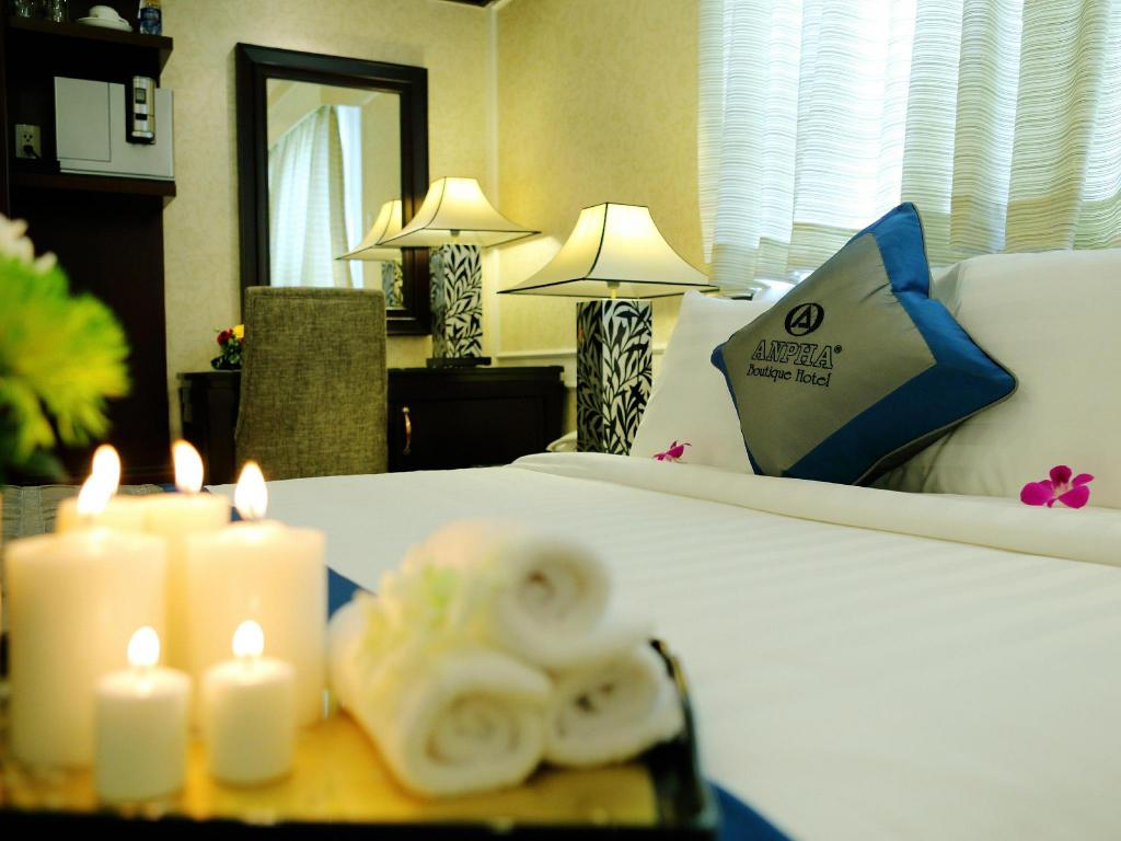 Deluxe doble - Cama Anpha Boutique Hotel