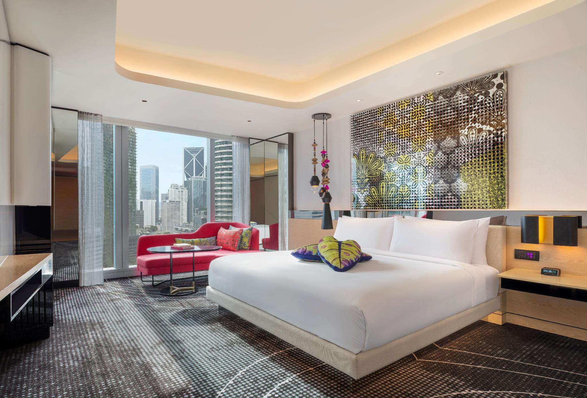 Spectacular Room, Guest room, 1 King, Twin Towers view