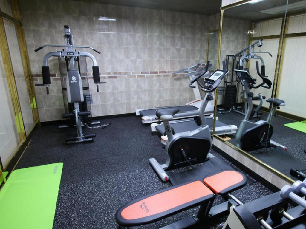 Fitness center Coop City Hotel BMK