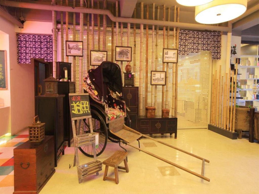 Lobby Dalian Household Theme Hotel Huanghe Road Branch