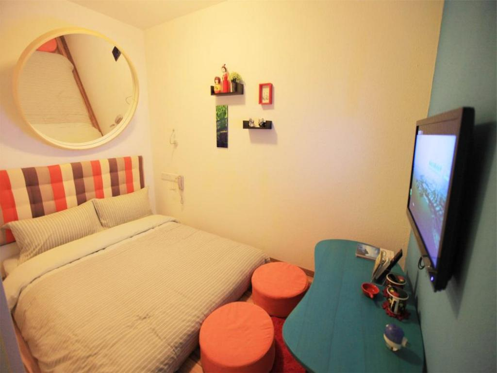Japonic Double Room - Bed Dalian Household Theme Hotel Huanghe Road Branch