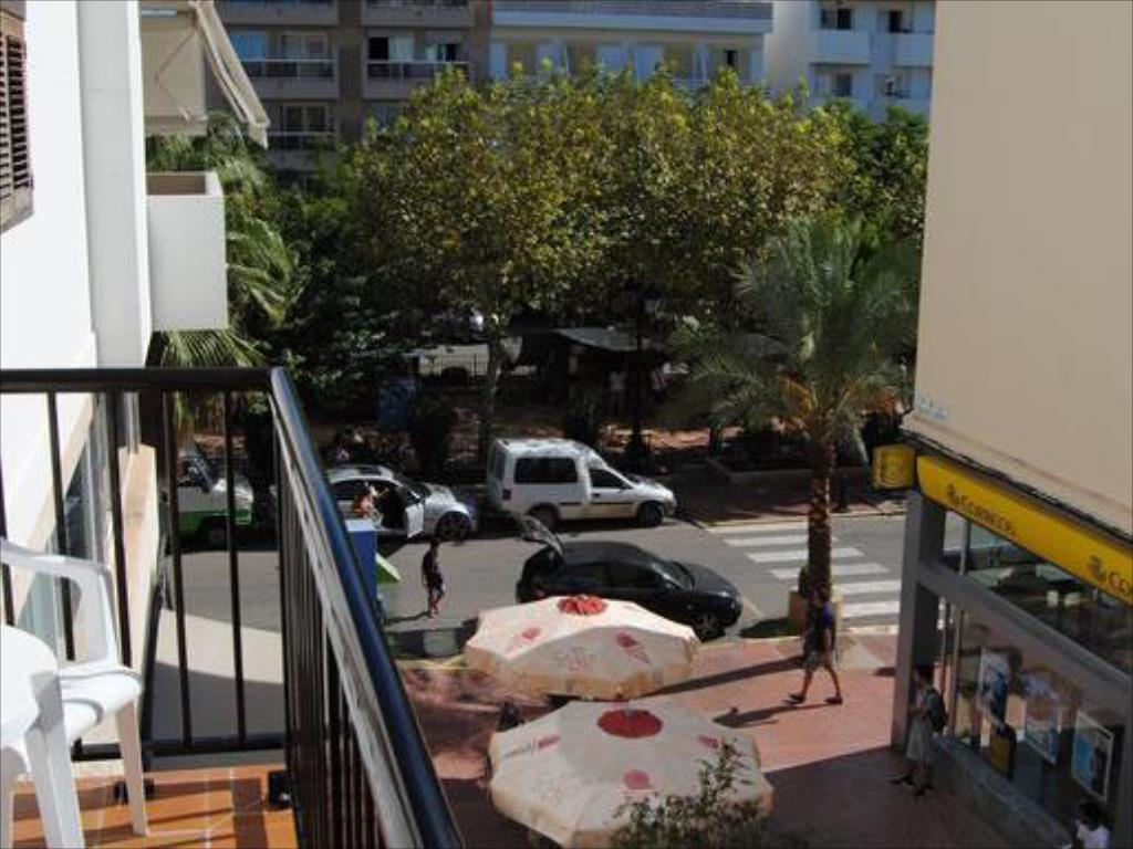 Balcony/terrace Hostal Mayol