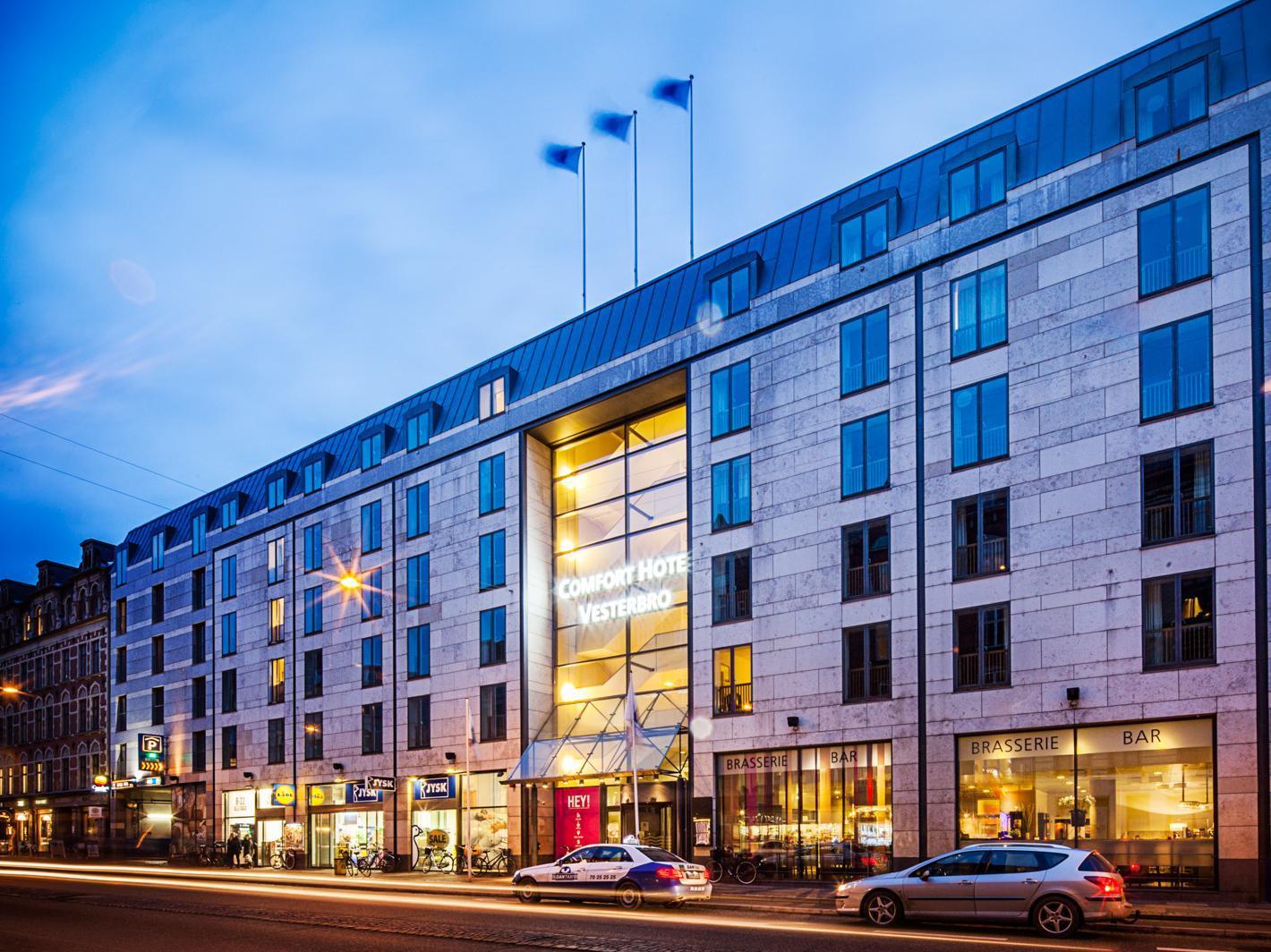 hoteller tæt på hovedbanegården