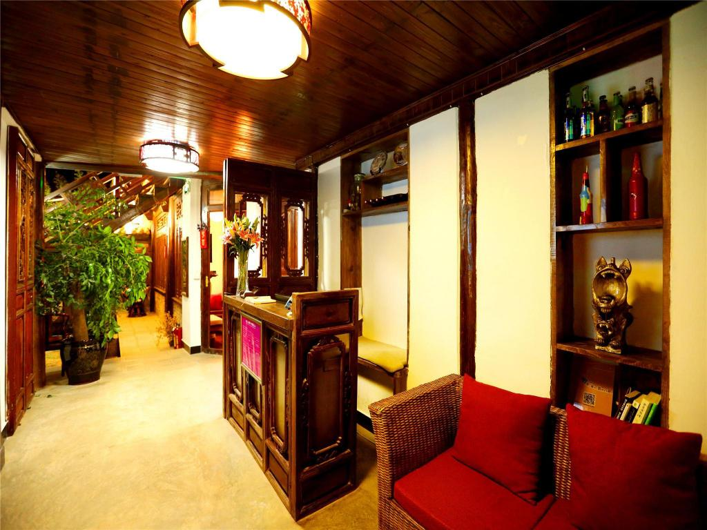 Vestíbulo Lijiang Just Waiting For You Inn