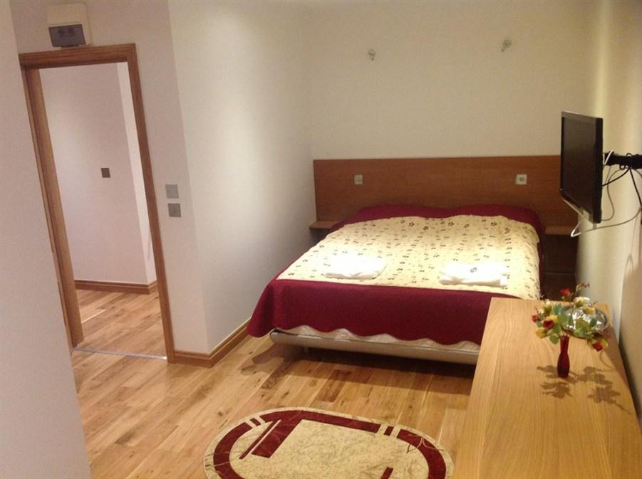 Dubbelrum med balkong (Double Room with Balcony)