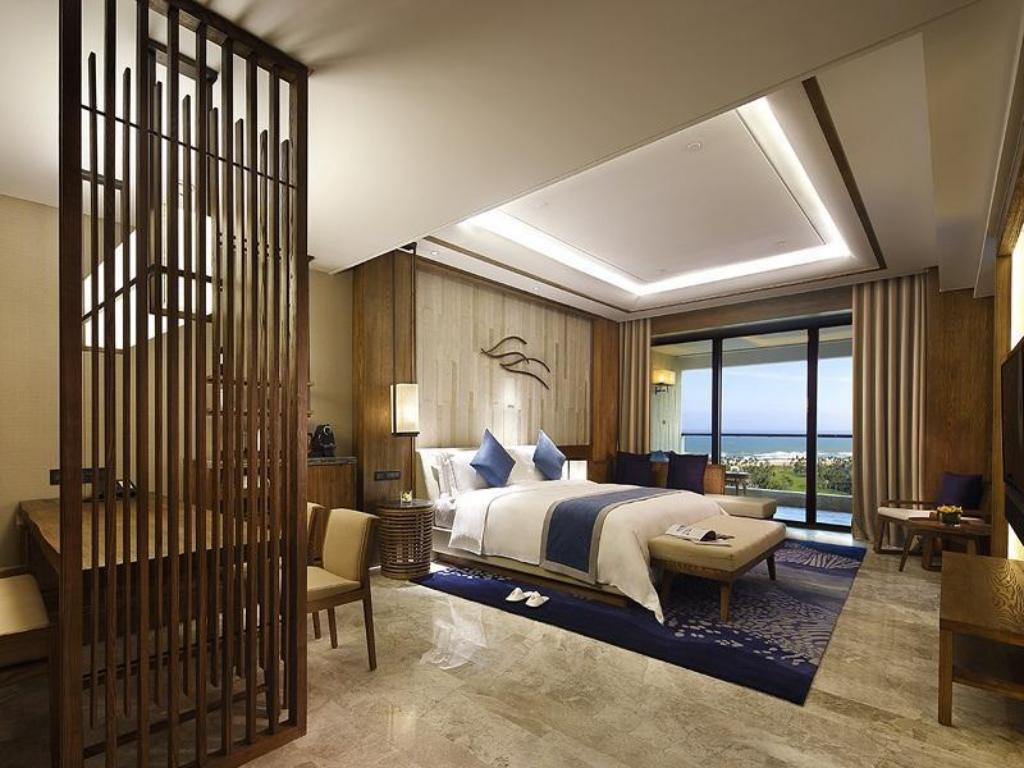 Deluxe kingsize kamer met oceaanzicht InterContinental Sanya Haitang Bay Resort
