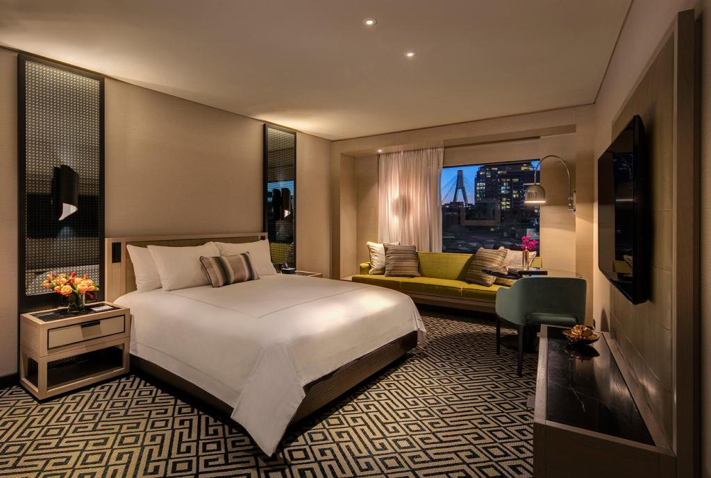Superior Room - Bed The Star Grand Hotel and Residences Sydney