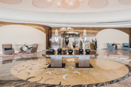 Lobby AlSalam Grand Hotel and Hotel Apartments Media City