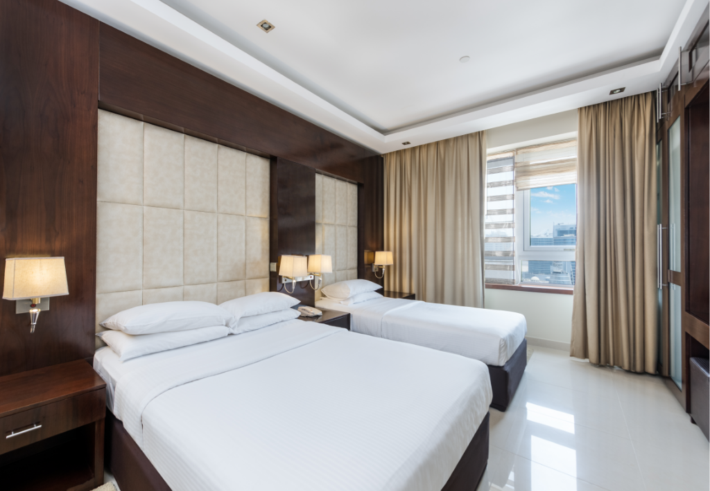 Studio - Bed AlSalam Grand Hotel and Hotel Apartments Media City