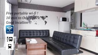 10 min to Susukino! Spacious Apt. w/Pocket Wifi#6