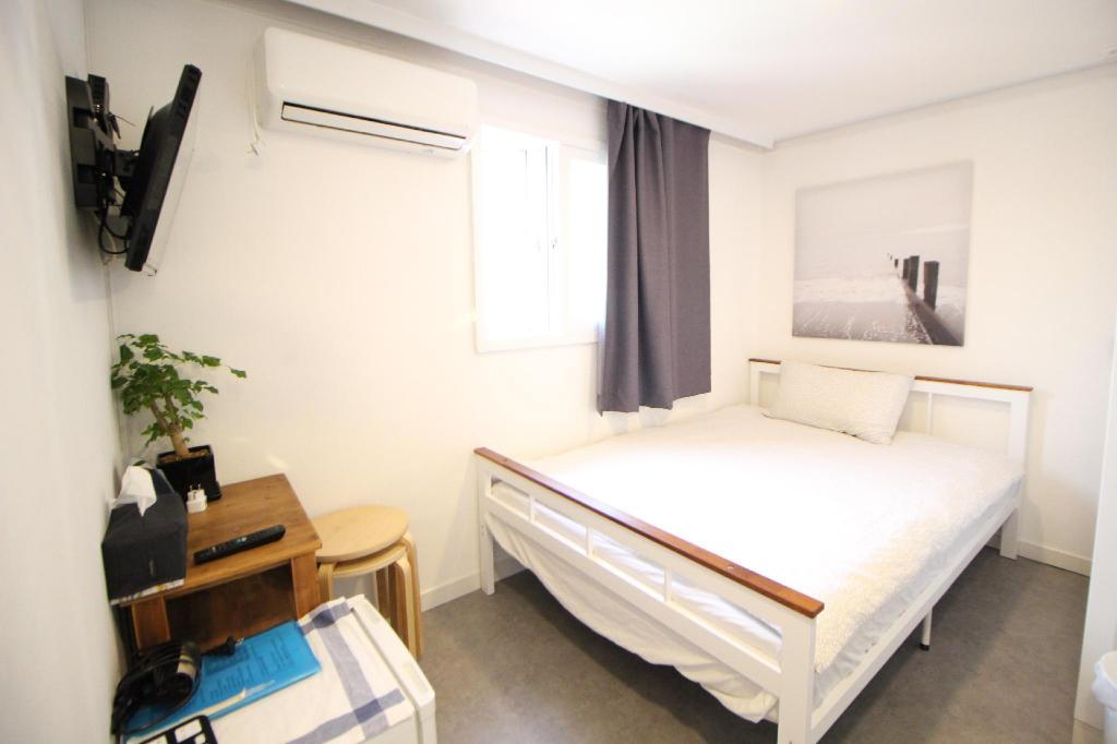 Economy Double - Room plan Seoul Mansion Guesthouse