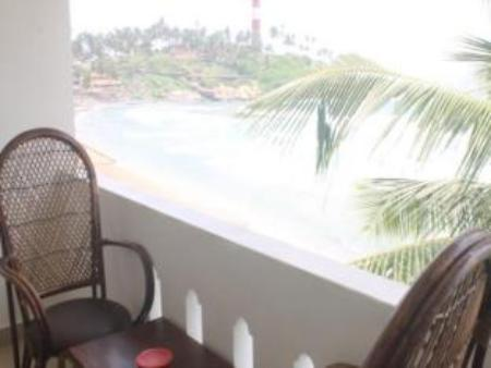 Balcony/terrace Vipin Beach Resort