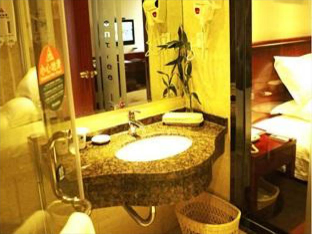 Bathroom GreenTree Inn Nantong Stadium West Qingnian Road Business Hotel