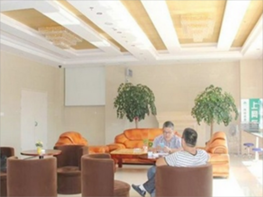 Лобби GreenTree Inn Nantong Rugao Port Bus Station Business Hotel