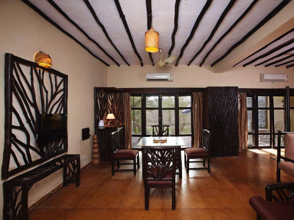 Vista interior Welcom Heritage Jungle Home Resort