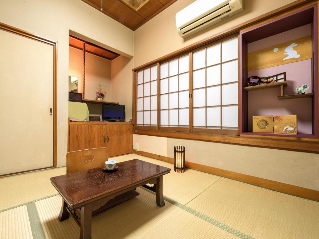 Economy Japanese Style Single Room with Shared Bathroom - Non-Smoking - Guestroom Bansuitei Ikoiso Ryokan