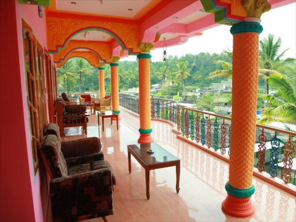 Balkon/terasa Rainbow Cottage