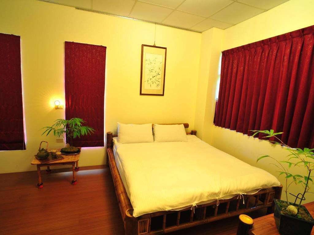 Double - Bed Ching Chu Bamboo Culture Park-In Bamboo Hotel