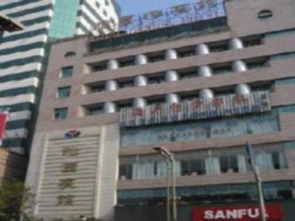 GreenTree Inn Tongling North Yian Road Fortune Plaza Express Hotel