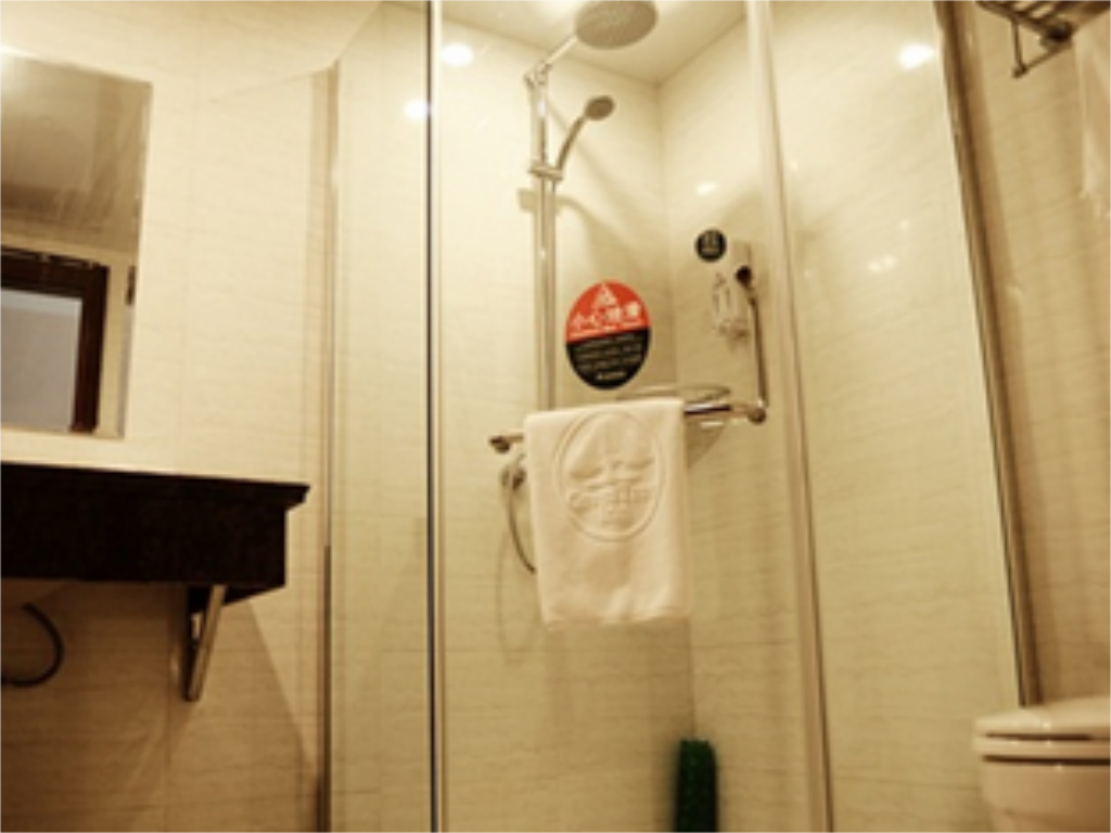 Baño Green Tree Inn Tongling North Yian Road Fortune Plaza Express Hotel