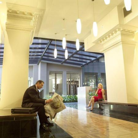 Lobby Melbourne Short Stay Apartments Cbd