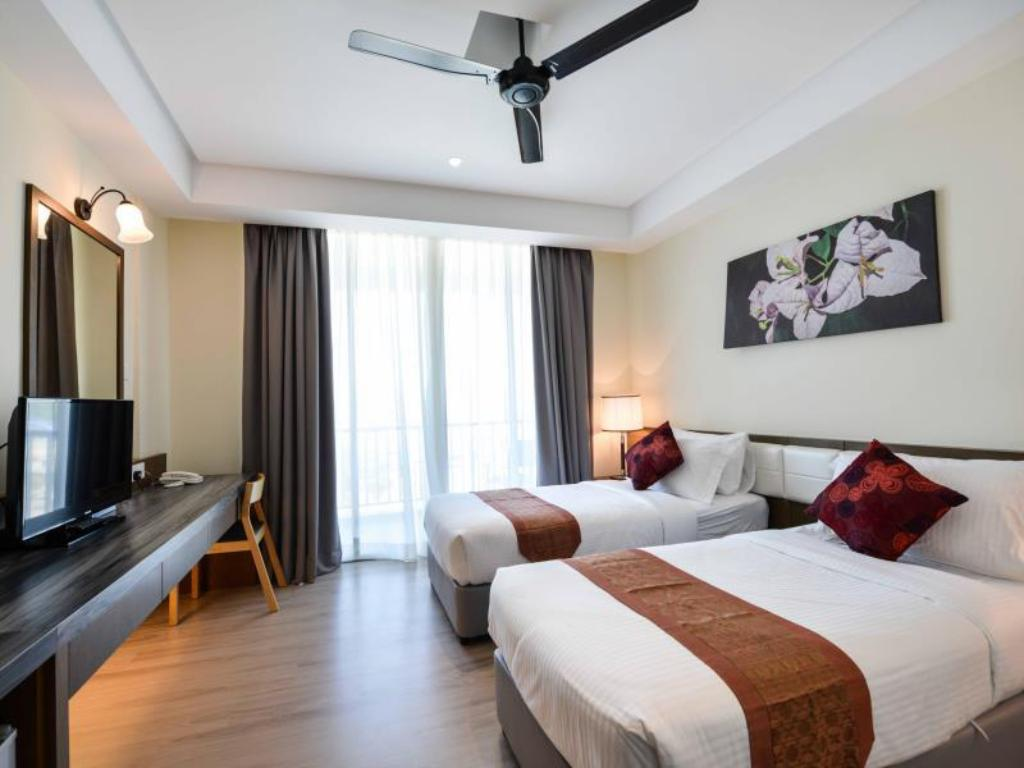 Nadstandardna s pogledom na morje - Soba za goste Dayang Bay Serviced Apartment & Resort