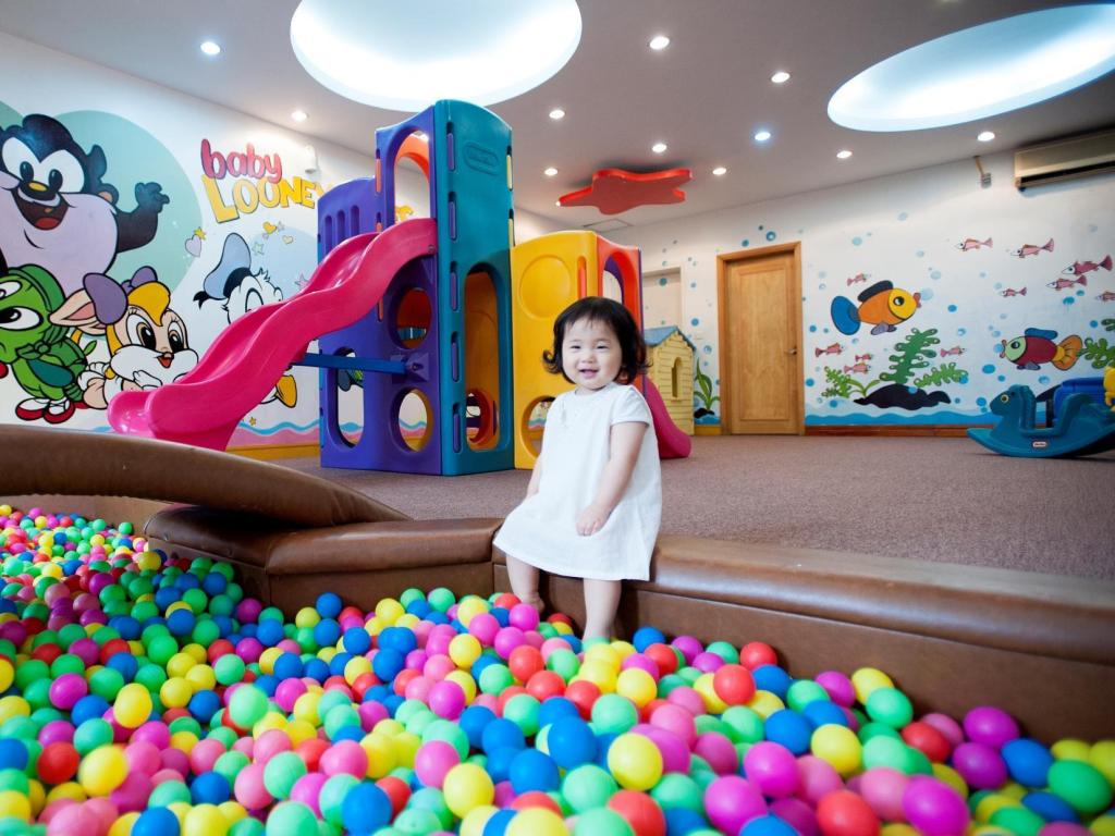 Kids areas Rose Garden Residences