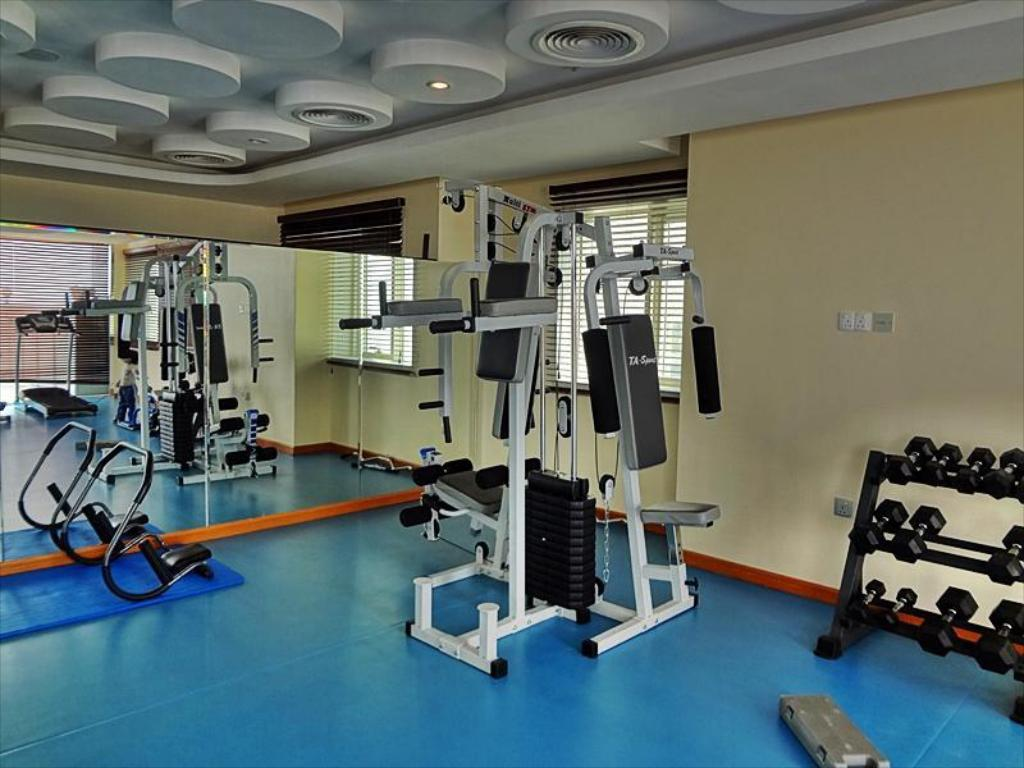 siłownia/sala do fitnessu Hala Inn Hotel Apartments