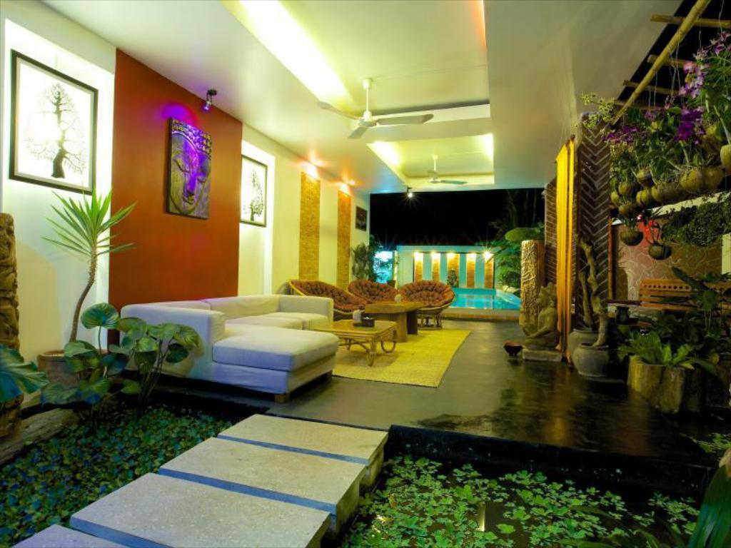 Lobi Three Rooms Angkor Orchid Secret Villa