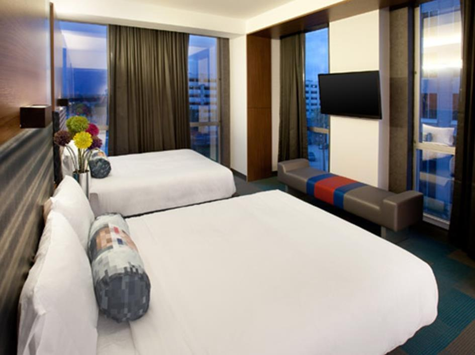 Aloft Room with 2 Queen Beds
