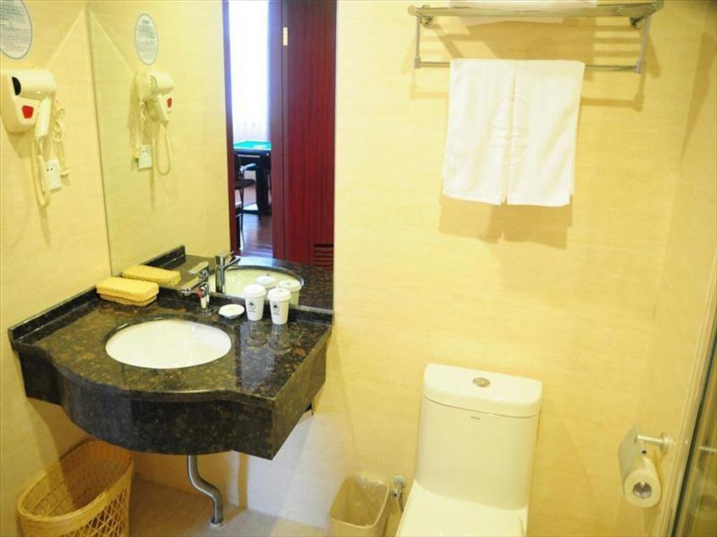 Baño Green Tree Inn Xuancheng South Zhaoting Road Business Hotel