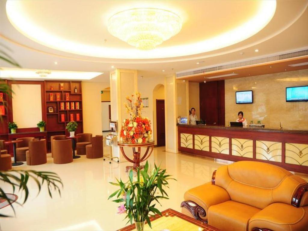 Vestíbulo Green Tree Inn Xuancheng South Zhaoting Road Business Hotel