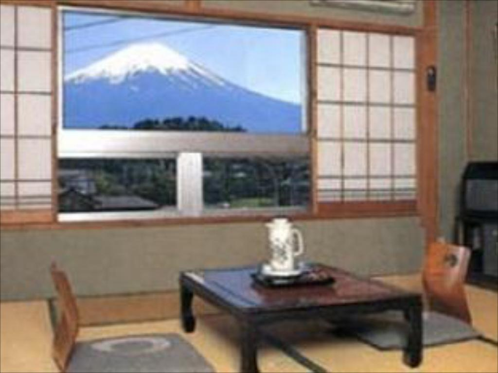Japanese Style With Shared Bathroom For 2 people - View from inside Ryokan Nashimiya Onsen