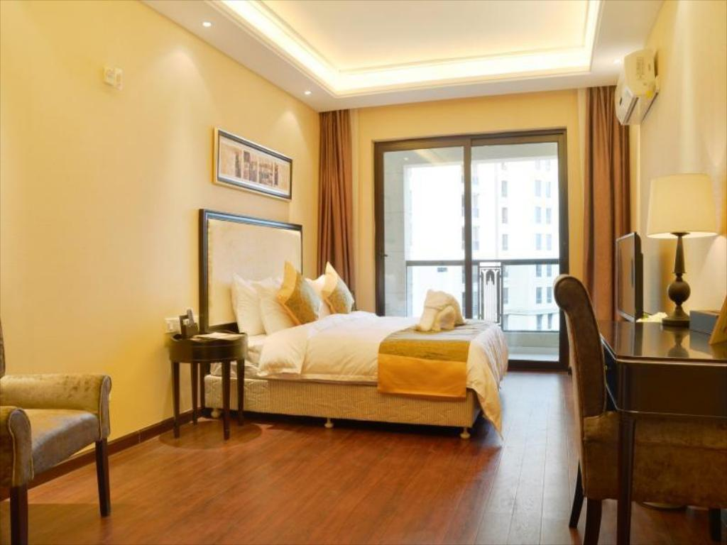 Студио Делукс Chongqing Tujia Sweetome Serviced Apartment Xiexin Gongguan