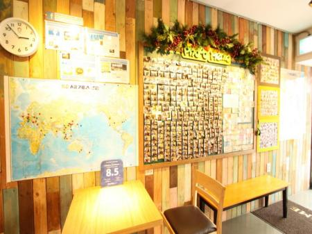 Лоби Welcome Guesthouse Myeongdong